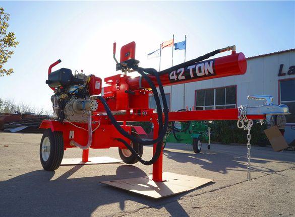 42 тона натиск Професионални Цепачки с ДИЗЕЛОВ двигател с Ел. старт