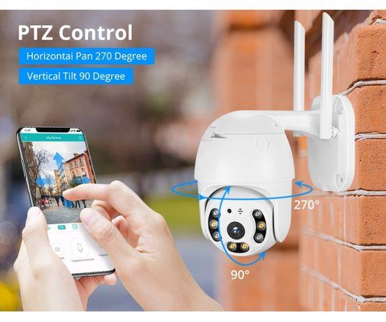 Camera supraveghere Wifi exterior 1080 FULL HD camera IP PTZ rotativa