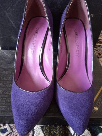 Чисто замшевые туфли