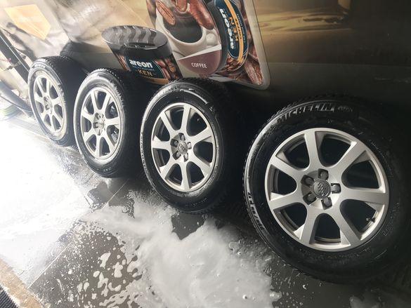 Джанти с гуми Audi Ауди 17 цола зимни джип Q5