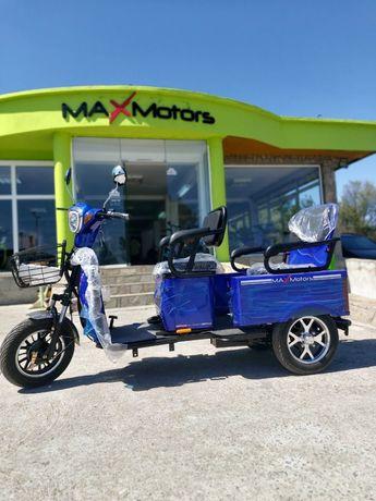 Нова !!!Двумесна електрическа триколка 1500W НОВА в НАЛИЧНОСТ гр. Хасково - image 2
