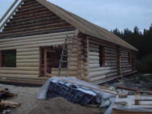 Реставрация деревяных домов. Покраска , шлифовка срубов, замена венцов