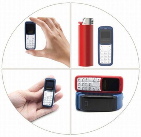 Мини маленький телефон - Bluetooth гарнитура, на 1 и на 2 сим карты