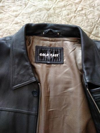Продам кожаную куртку большой размер.