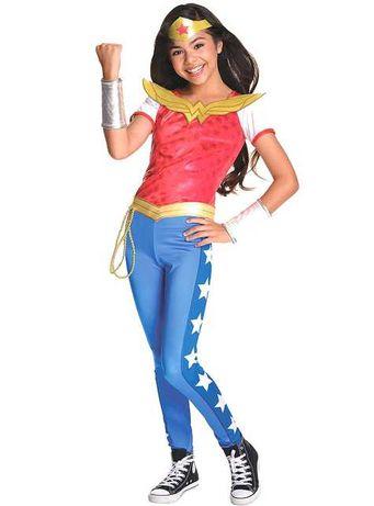 Costum Wonder Woman deluxe pentru fete 8-10 ani