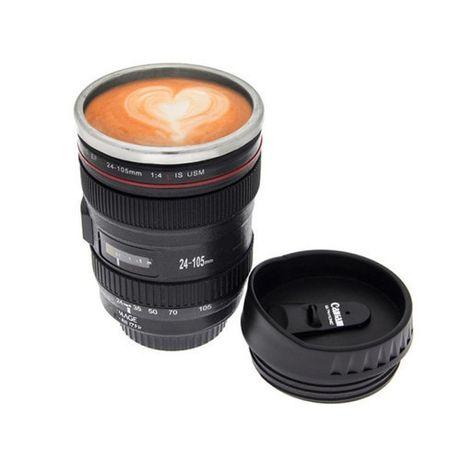 Ново! ХИТ! Чаша за чай, кафе и др напитки във формата на обектив.