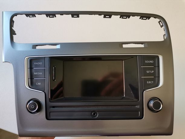MIB2 + rama/trim gri 6.5' VW Golf 7/Passat B8 fara navigație