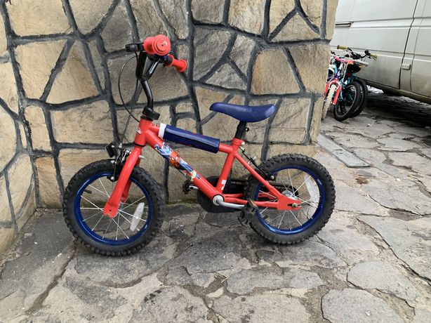 Bicicleta copii Spiderman roti 14""