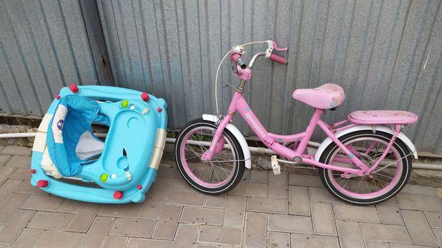 Велосипед для девочки, состояние хорошее