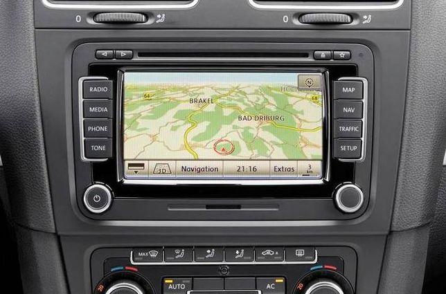 DVD harti navigatie Volkswagen RNS510 RNS810 Europa Romania 2020
