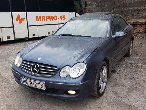 Mercedes W209 CLK350 бензин Facelift M272 НА ЧАСТИ!