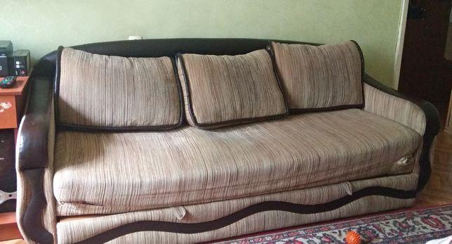 Диван +кресло б/у