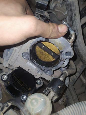 Чистка дроссельной заслонки двигателя в г. Нур-Султан (Астана)