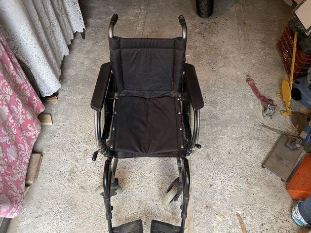 Carucior Persoane Cu Handicap Pliabil Scaun Invalizi