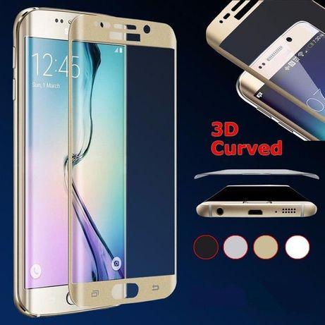 Folie Sticla Securizata Curbata 3D Samsung S7Edge S6 Edge S6 Edge Plus