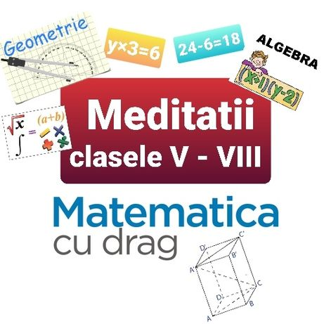 Meditatii la matematica ONLINE Individual clasele V-VIII