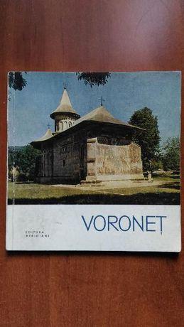 Carte turism veche - Voronet