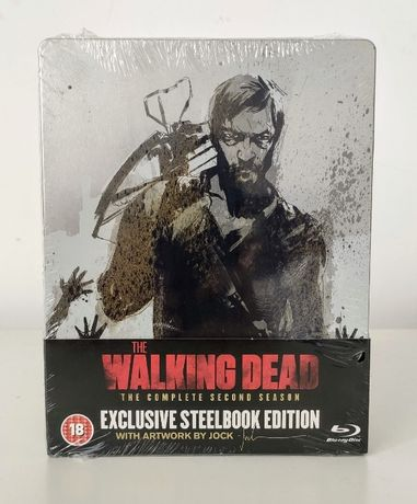 The Walking Dead Season 2 Steelbook Blu-Ray