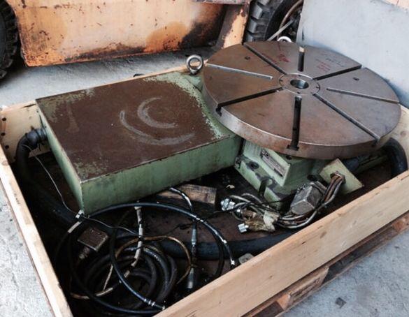 CNC Въртяща маса делителен апарат Fibroplan 630mm