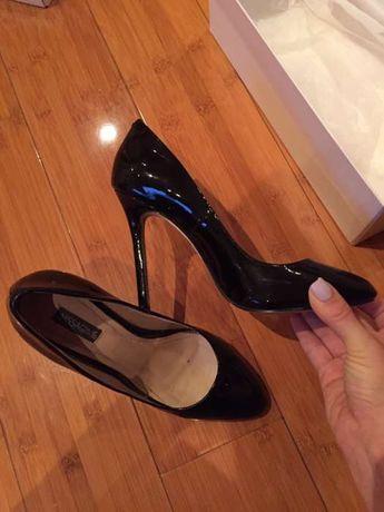 Pantofi Nissa piele lacuita 37 gen musette il passo