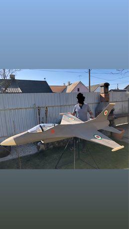 Aeromodel avion F16 macheta mare! Unic in Ro, expo