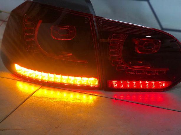Stopuri Full LED Golf 6 Semnal Dinamic R20 GTI Look - Fara Erori !