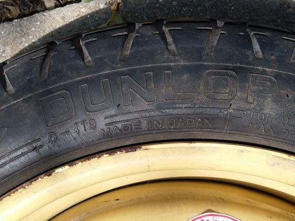 Резервна гума тип ,,патерица,, Dunlop за Хонда