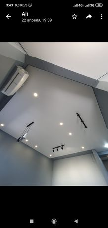 натежные патолки натяжной потолок  натежной  потолки керме тобе аспан