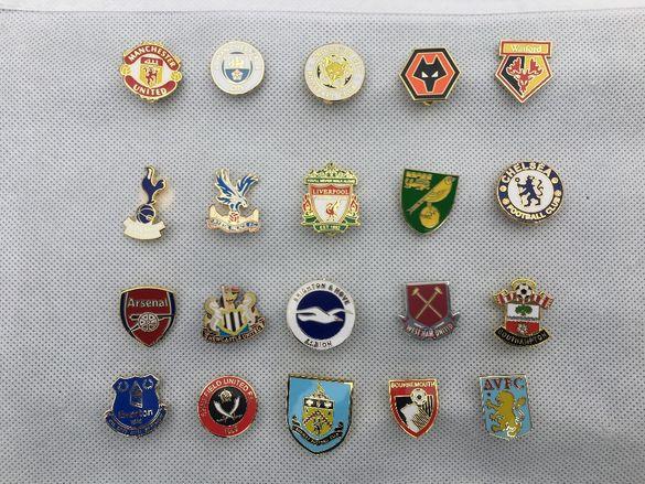 Футболни значки - Pin Badges UK