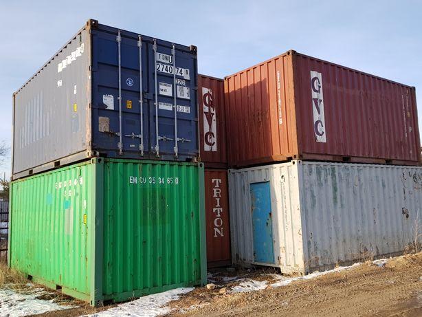 Продаю контейнеры 20 и 40 футовые .