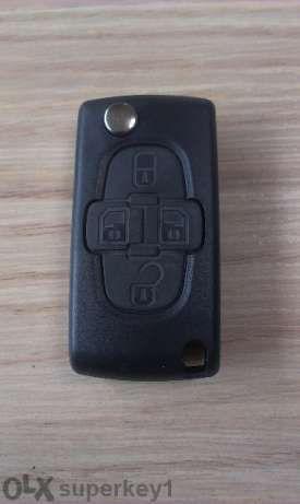 Кутийка за ключ на Peugeot/Пежо 207, 307, 308, 1007, 407, expert