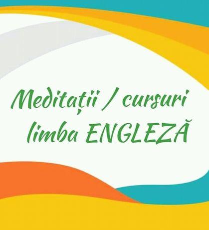 Meditații Engleză