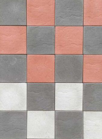 Pavele, pavaje beton curte, piatra decorativa model patrat roca