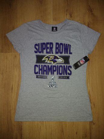 Tricou damă NFL Baltimore Ravens Super Bowl mărimea L