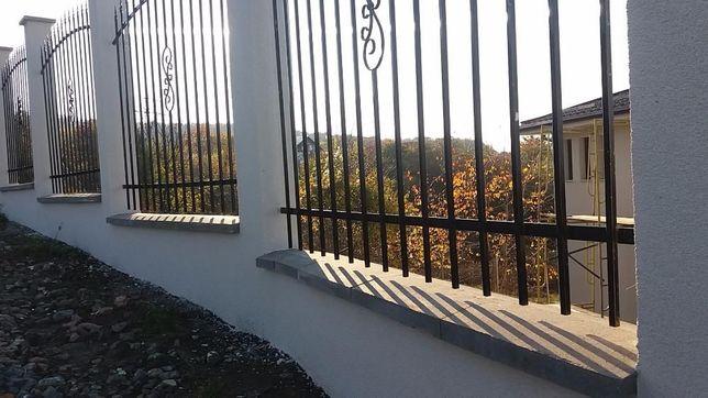 Capace gard și stâlp din beton lățimi 20, 25, 30, 35 și 40 cm, stoc cj