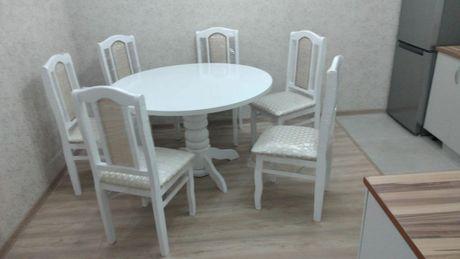 Продам стол  и стулья из Российской  дерева сосна