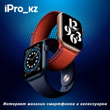 Apple Watch SE 44MM, Смарт Фитнес браслет умные часы