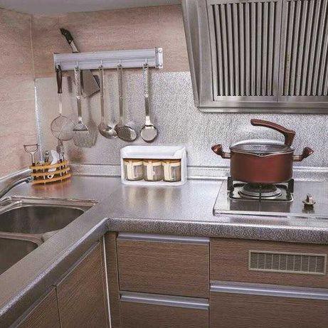 Folie de aluminiu autoadeziva bucatarie 60 x 300 cm GOLD/AURIU
