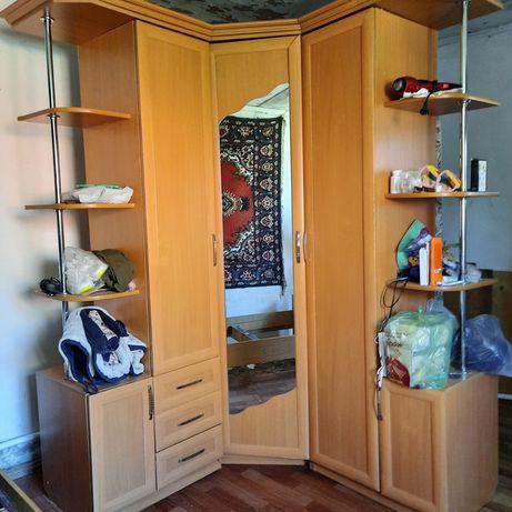 Горка шкаф+Угловой шкаф с зеркалом