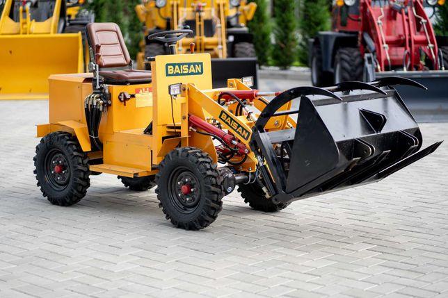 Incarcator frontal electric ridicare 300 Kg 4x4 Baisan DU12
