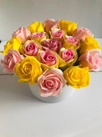 Aranjament floral Trandafiri de sapun