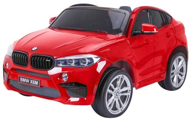 Masinuta electrica pt copii BMW X6M cu doua locuri Visiniu metalizat