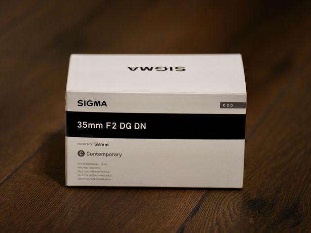 Sigma 35mm Obiectiv Foto Mirrorless F2 DG DN Montura Sony FE