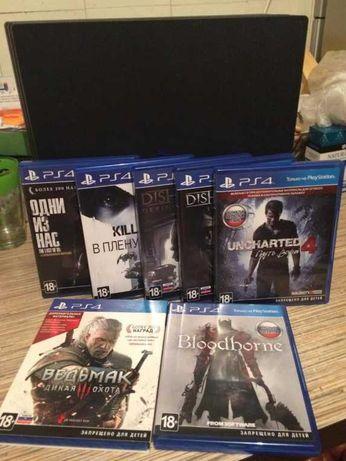 Sony PS4 Pro 1Tb + игры