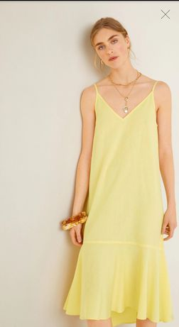 Лятна рокля. Mango размер L