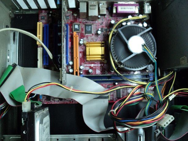 VINTAGE Unitate Calculator Biostar Reconditionat An 2001