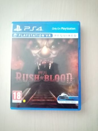 Vând jocul Rush of Blood pentru Playstation VR