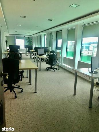 Spatiu birouri cu vedere panoramica si terasa de 90mp la etajul 12, BV