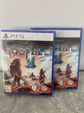 Joc consola sony Ps5 playstation Godfall Deluxe edition - nou