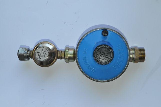 Kit regulator GPL S1-S2 10kg/h Tecnogas pentru sistem de butelii GPL